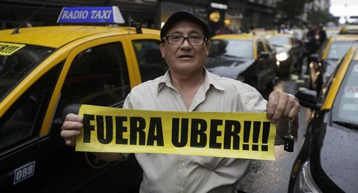 Uber sí, Uber no