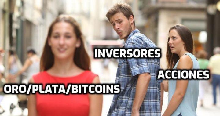El espectacular momento del oro, la plata y el bitcoin