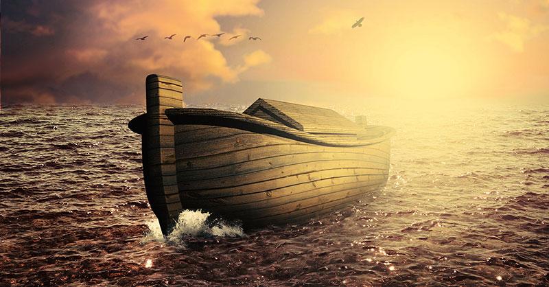 La única salvación ante el diluvio que se viene